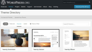 wordpress.org how to find free wordpress themes