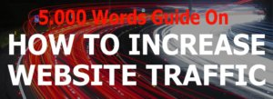 how increase website blog traffic