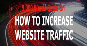 website traffic blog increase grow